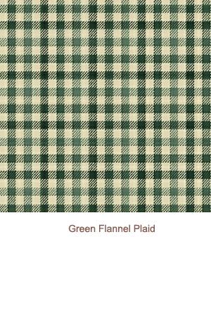 Green Flannel Plaid