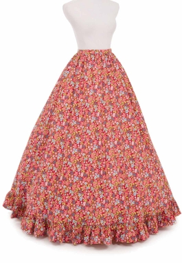 Victorian Civil War Style Skirt