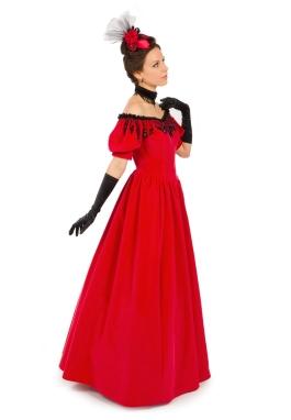 Victorian Velvet Gown