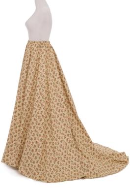 7-Gored Victorian  Skirt