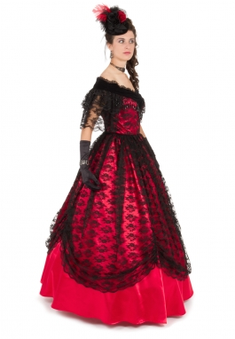Victorian Civil War Ballgown