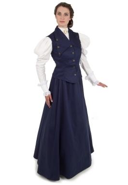 Edwardian Vest and Skirt