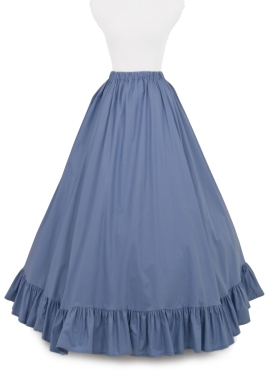 Civil War Cotton Skirt