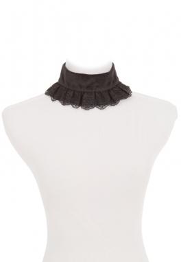 Black Velvet Collar