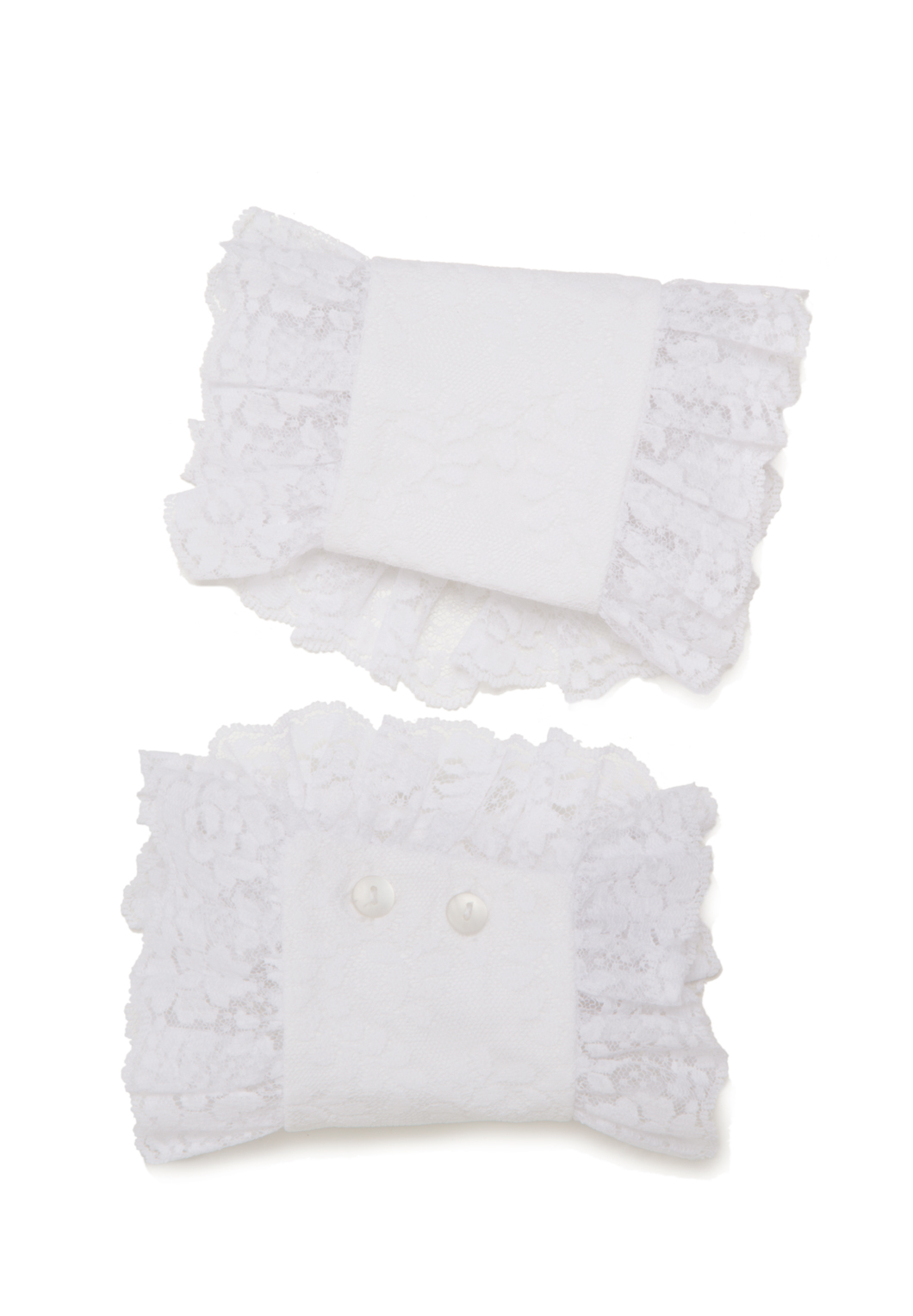 Lacy Cotton Cuffs
