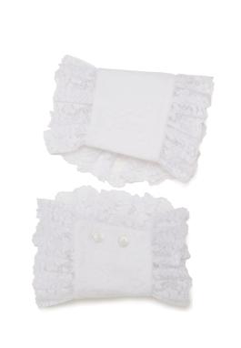 Lacy Cotton Cuffs