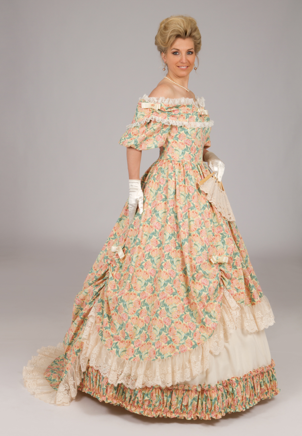 Victorian Civil War Styled Ball Gown | Recollections