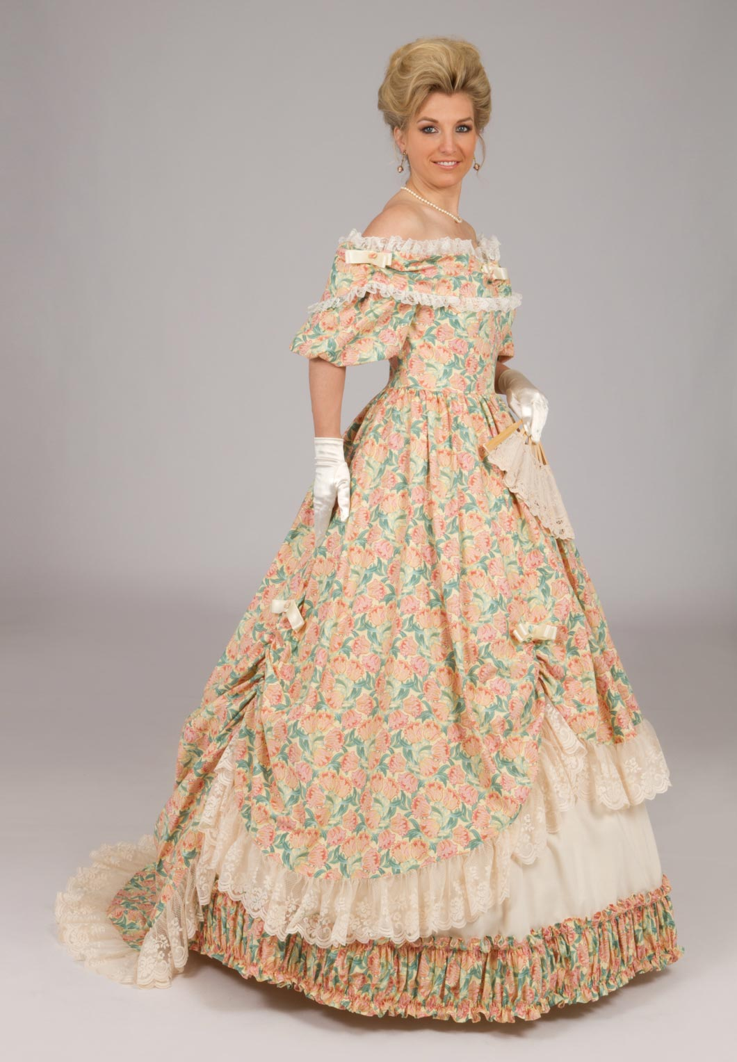 Victorian Civil War Styled Ball Gown Recollections