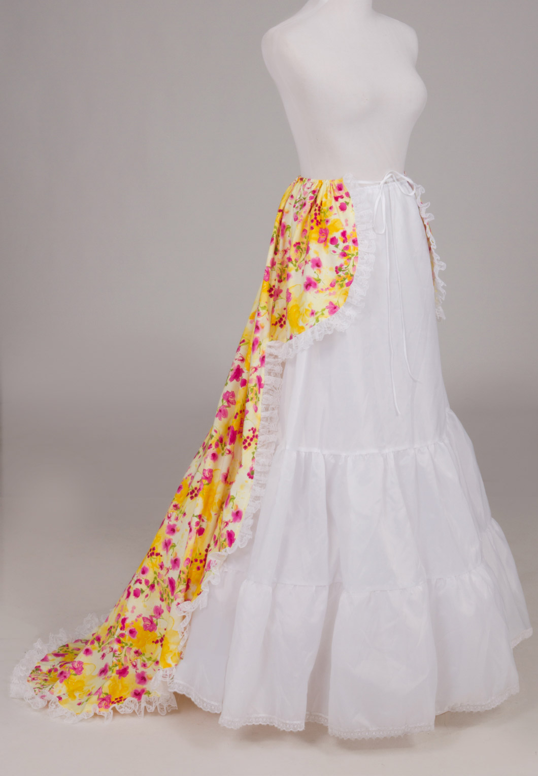Victorian  Overskirt with Train