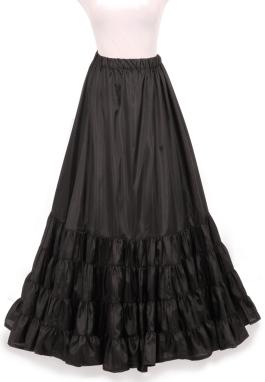 Edwardian Rustling Petticoat