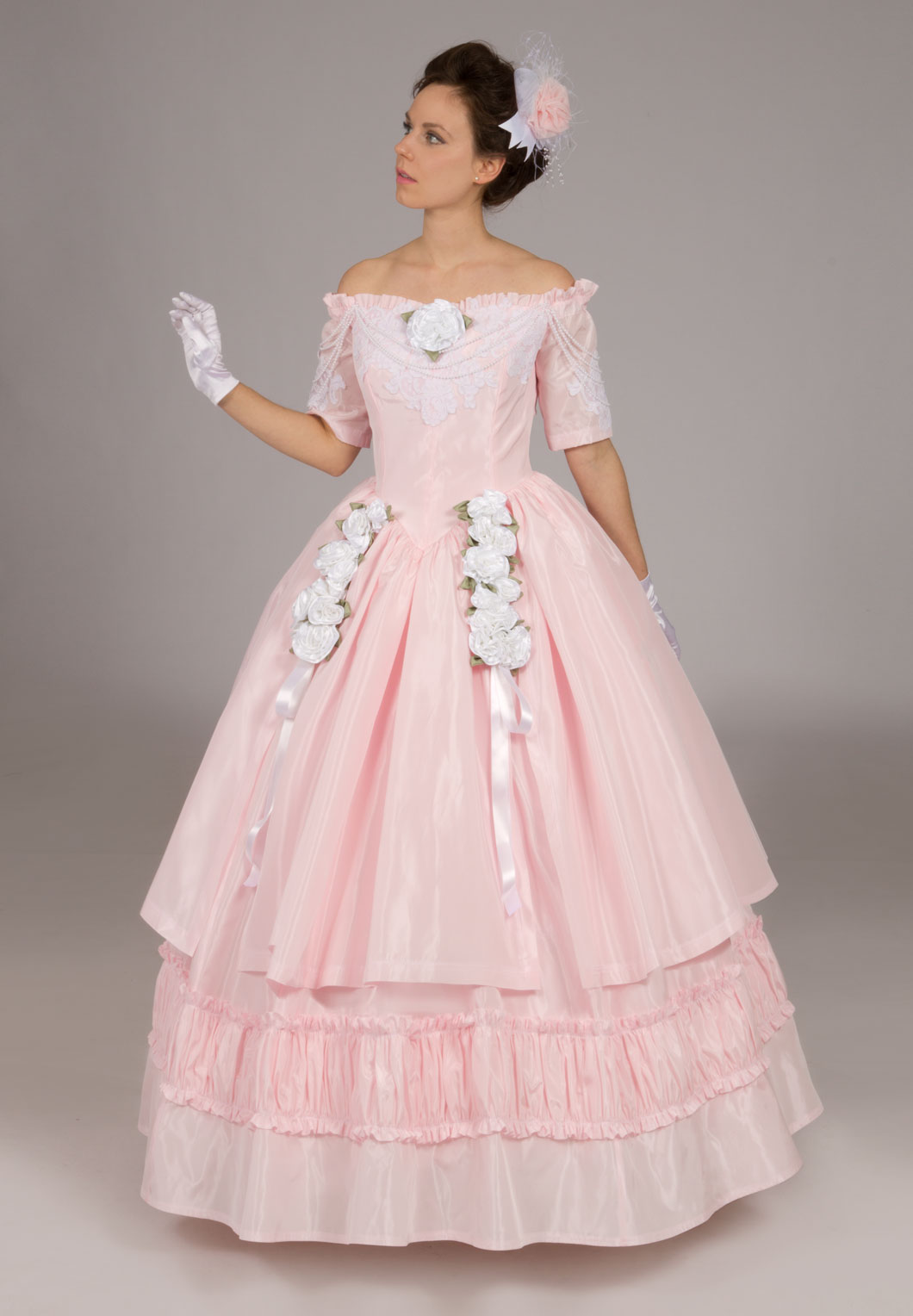 Victorian ball gown recollections for Old west wedding dresses