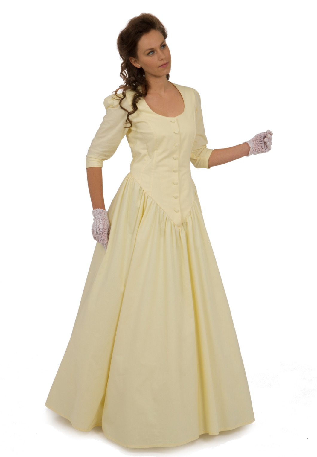 Cotton Victorian Dress Recollections