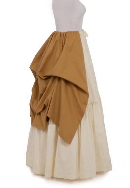 Victorian Bustle Overskirt
