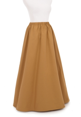 Victorian Edwardian Twill Skirt