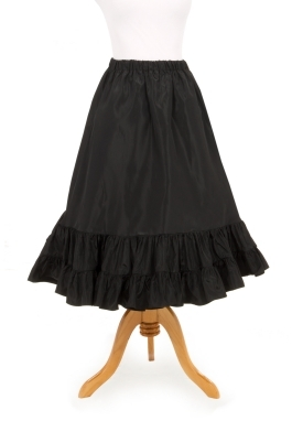 Short Taffeta Petticoat