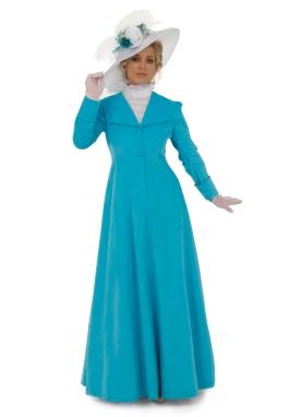 Edwardian Style Corduroy Dress