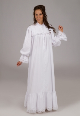 Victorian Flannel Nightgown