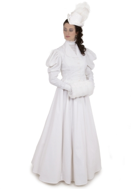 White Victorian Suit