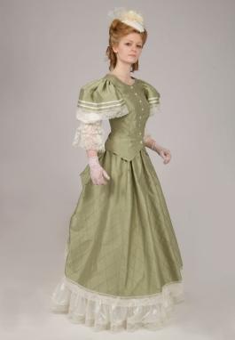 Tessa Silk Victorian Dress