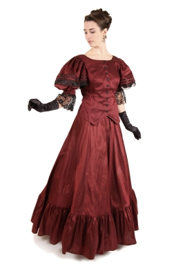 Lara Victorian Dress