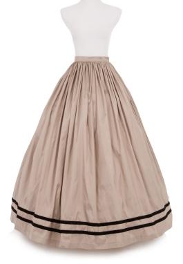 Civil War Dupioni Skirt