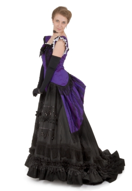 Isadore Victorian Bustle Dress