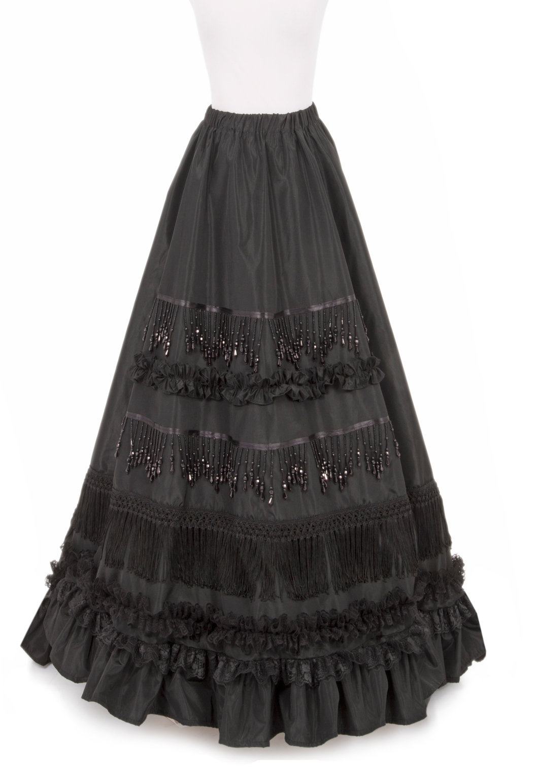 how to make a bustle overskirt