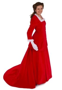 Emmanuelle Victorian Velvet Suit