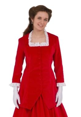 Emmanuelle Victorian Velvet Jacket