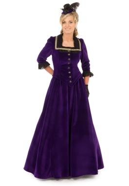 Victorian Velvet Suit