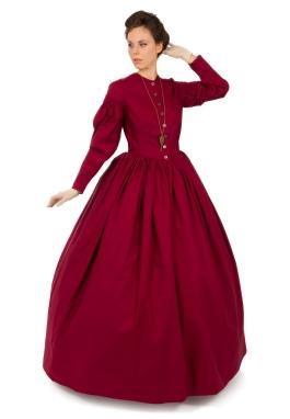 Romantic Era Early Victorian Dress