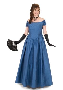 Chantelle Victorian Silk Ball Gown