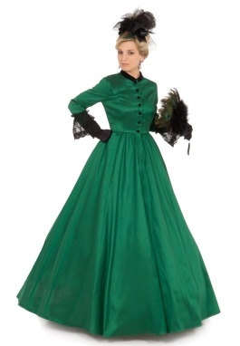 Victorian Civil War Style Gown