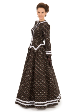 Braid Trimmed Victorian Ensemble
