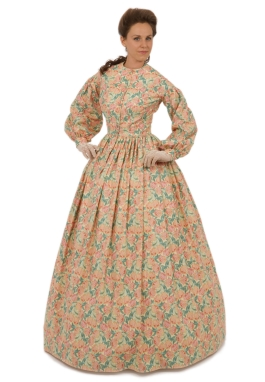 Civil War Victorian Dress