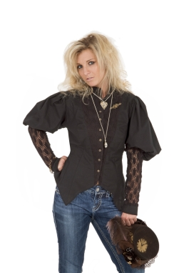 Steampunk Victorian Blouse