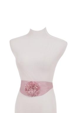 Taffeta Rose Belt
