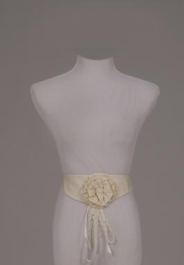 Cotton Rosette Belt