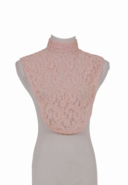 Rose Reembroidered Lace Chemisette
