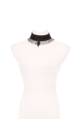 Beaded Fringe Choker