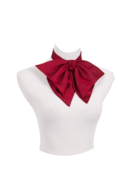 Red Victorian  Bow Tie