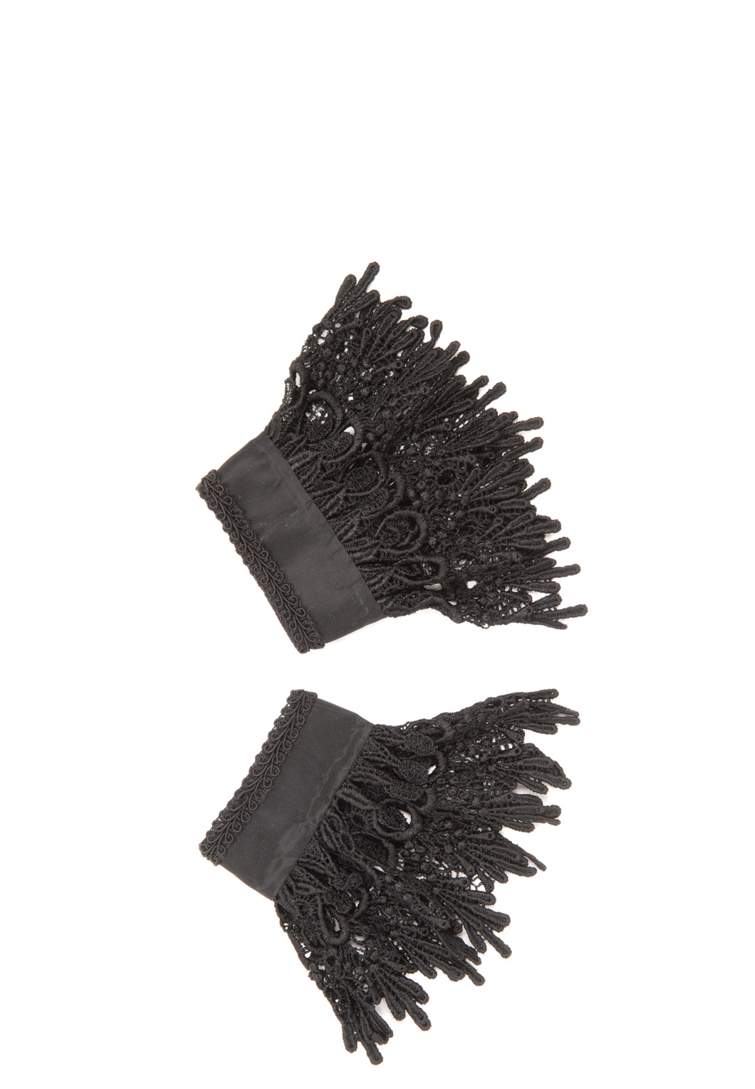 Black Venice Lace Cuffs