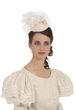 Victorian Teardrop Hat