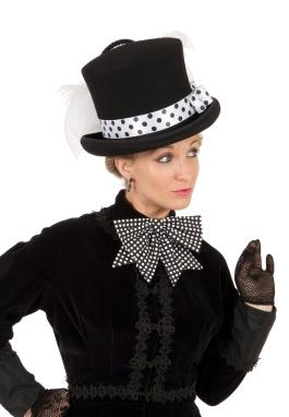 Halloween Victorian Mad Hatter Top Hat