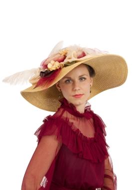 Ophelia Edwardian Hat