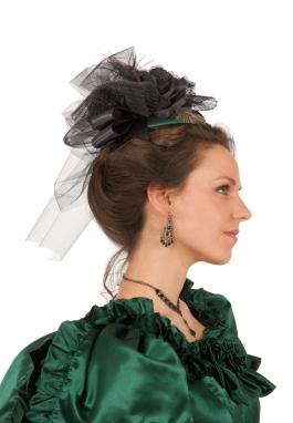 Magnolia Satin Teardrop Hat