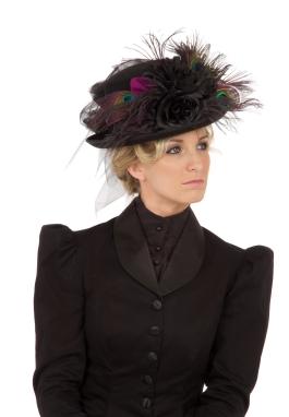 Black Riding Hat