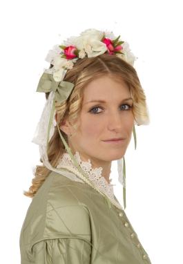 Victorian Civil War Headpiece