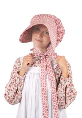 Clearance Calico Bonnet