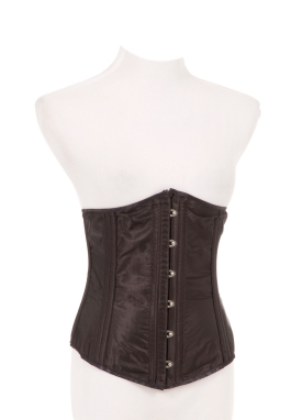 Black Satin Waist Cincher
